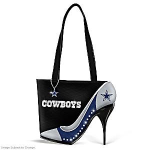 """Dallas Cowboys """"Kick Up Your Heels"""" Handbag"""