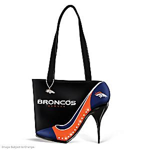 "Denver Broncos ""Kick Up Your Heels"" Handbag"