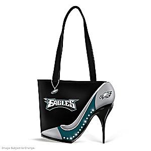 "Philadelphia Eagles ""Kick Up Your Heels"" Handbag"