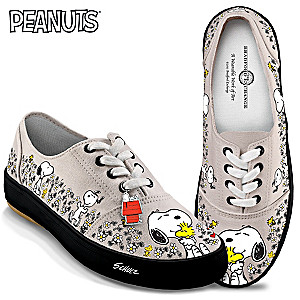 "PEANUTS ""Happiness Is Friendship"" Women's Sneakers"