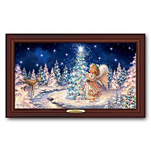 "Dona Gelsinger ""My Christmas Wish"" Illuminating Canvas Print"