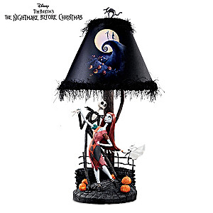 Tim Burton's The Nightmare Before Christmas Moonlight Lamp