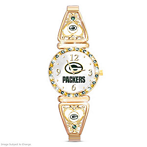 """My Packers"" Ultimate Fan Women's Wristwatch"