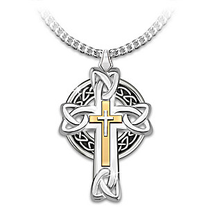 Necklace celtic inspiration mens cross pendant necklace celtic inspiration mens cross pendant necklace aloadofball Choice Image