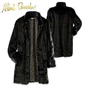 Alfred Durante The Liz Black Faux Fur Womens Coat