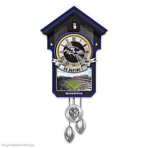 Baltimore Ravens Tribute Wall Clock