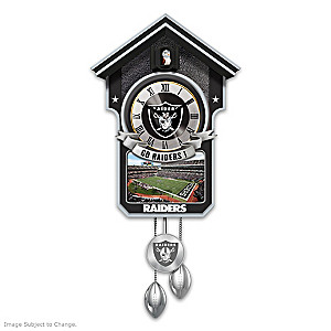Las Vegas Raiders Tribute Wall Clock