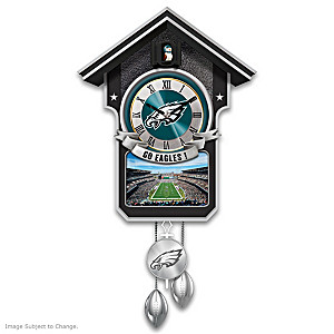 Philadelphia Eagles Tribute Wall Clock
