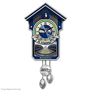 Seattle Seahawks Tribute Wall Clock