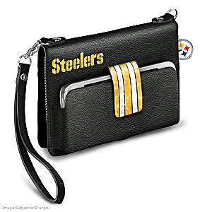 "Steelers ""Downtown Chic"" Mini Handbag"