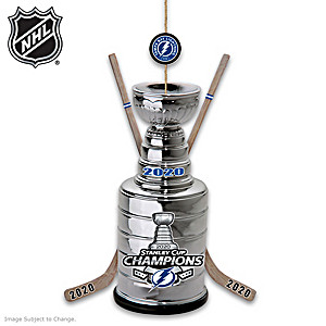 Lightning® 2020 Stanley Cup® Champions Ornament