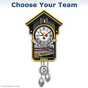 Choose Your Team: NFL Team Tribute Wall Clock