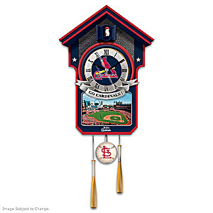 "St. Louis Cardinals ""Moments Of Greatness"" Wall Clock"