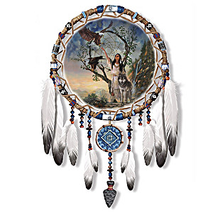 "Russ Docken ""Mystic Dreams"" Dreamcatcher Wall Decor"