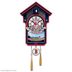 Boston Red Sox Tribute Wall Clock