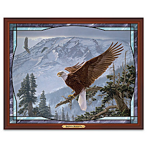 Lee Kromschroeder Majestic Monarchs Stained Glass Wall Decor
