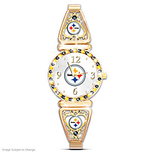 """My Steelers"" Ultimate Fan Women's Wristwatch"
