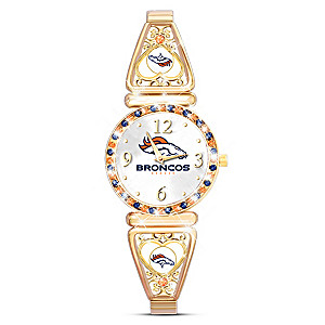 """My Broncos"" Ultimate Fan Women's Wristwatch"