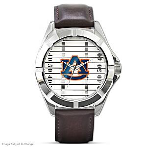 """Go Tigers"" Auburn University Men's Watch"