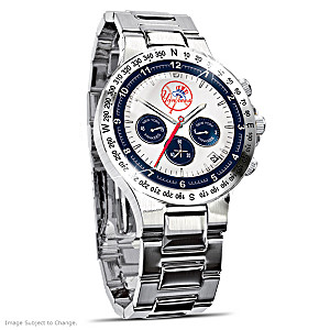 New York Yankees Commemorative Chronograph Watch