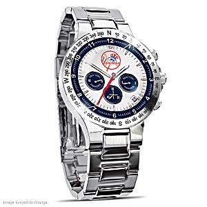 New York Yankees Commemorative Chronograph Watch
