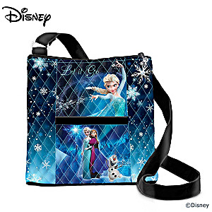 "Disney ""Let It Go"" Crossbody Bag With Artwork From ""Frozen"""