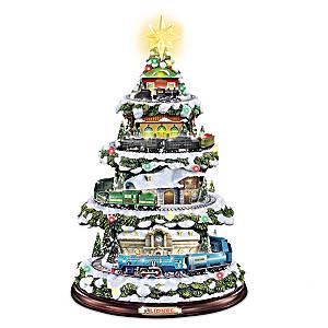"Lionel ""Heritage Christmas Train"" Illuminated Christmas Tree"