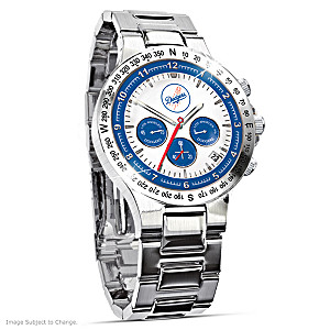 Los Angeles Dodgers Commemorative Chronograph Watch