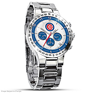 Chicago Cubs Commemorative Chronograph Watch