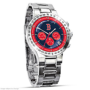 Boston Red Sox Commemorative Chronograph Watch