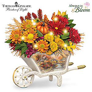 "Thomas Kinkade ""Seasonal Splendor"" Illuminated Centerpiece"