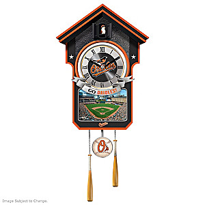 Baltimore Orioles Tribute Wall Clock