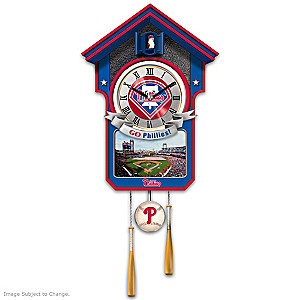 Philadelphia Phillies Tribute Wall Clock