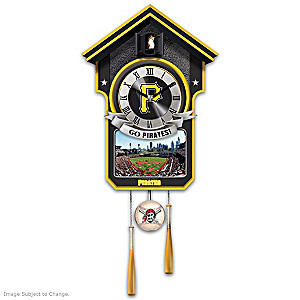 Pittsburgh Pirates Tribute Wall Clock