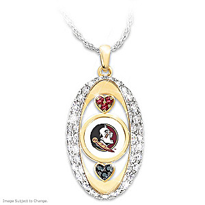 """For The Love Of The Game"" Florida State Seminoles Pendant"