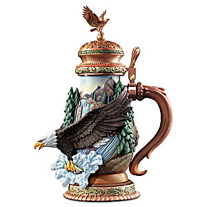 Freedom's Flight Heirloom Porcelain Stein