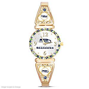 """""""My Seahawks"""" Ultimate Fan Women's Wristwatch"""