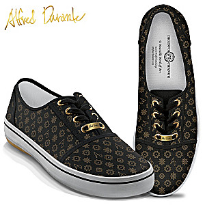 Alfred Durante Designer Signature Print Women's Shoes