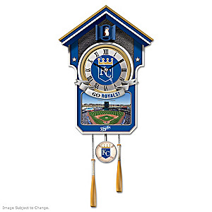 Kansas City Royals Tribute Wall Clock
