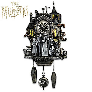 The Munsters Illuminated Musical Wall Clock