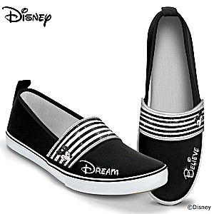 "Disney Mickey Mouse ""Sparkle In Style"" Women's Slip-On Shoes"