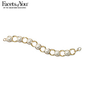 Beautiful Occasions Slow Dance Pearlescent Link Bracelet