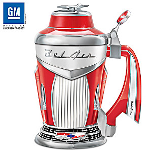 Chevy Bel Air Porcelain Tribute Stein With Classic Styling