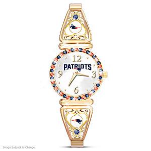 """""""My Patriots"""" Ultimate Fan Women's Wristwatch"""