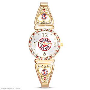 """""""My Red Sox"""" Ultimate Fan Women's Wristwatch"""