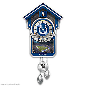 Indianapolis Colts Tribute Wall Clock