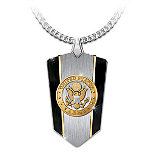 army sterling pendant gifts silver mizpah sku catholic