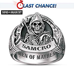 "Sons Of Anarchy ""Men Of Mayhem"" Men's Ring"