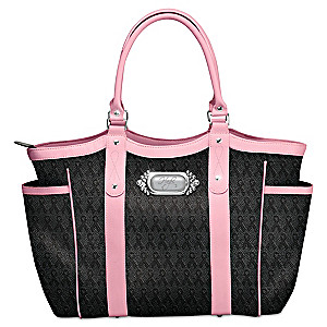 """""""Hope Carries On"""" Breast Cancer Awareness Tote Bag"""
