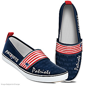 NFL-Licensed New England Patriots Women's Slip-On Shoes